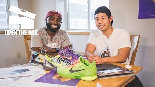 This Aspiring Sneaker Designer's Sketches and Kobe Collection are Pretty Insane | Open the Box
