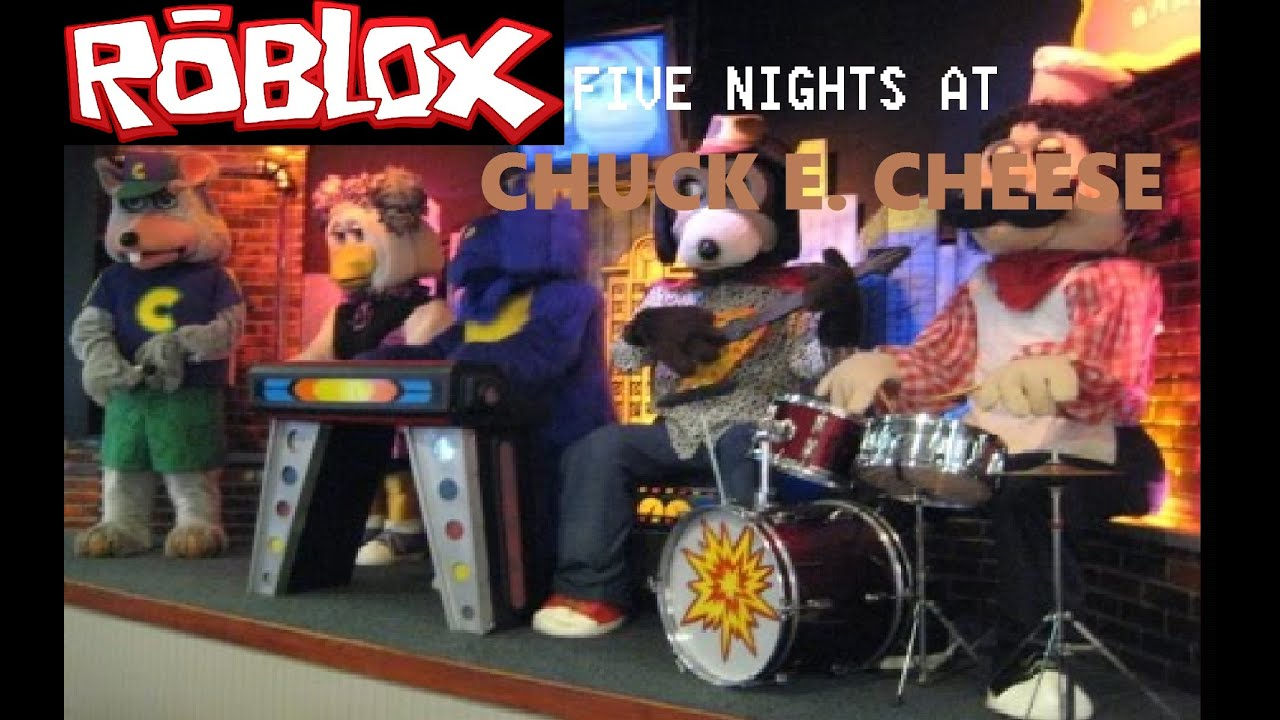 Nights E Chuck Cheese Roblox Five