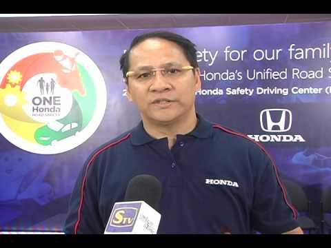 Mr  Jun Lomibao   Department Head, Honda's Safety Driving Promotion