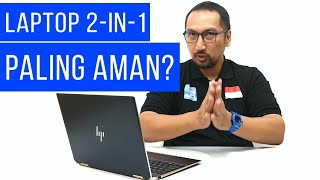 Laptop Tercantik dengan Keamanan Ekstra Ketat: Review HP Spectre X360 13 2018 Sure View