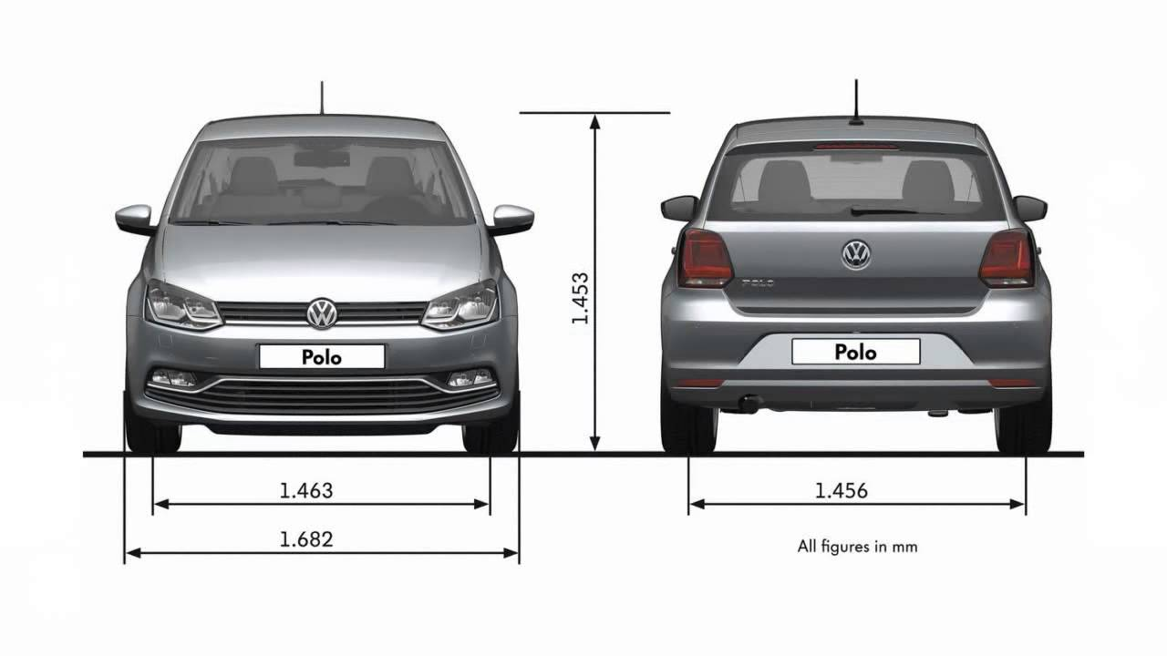 2014 volkswagen polo dimensions youtube. Black Bedroom Furniture Sets. Home Design Ideas