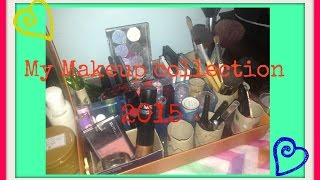 Gambar cover My Makeup Collection 2015 :)