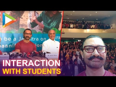 Aamir Khan's heartwarming interaction with students of Symbiosis College in Pune