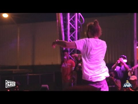 Drunk Post Malone Falls On Stage While Singing 'White Iverson' Live + Interview After