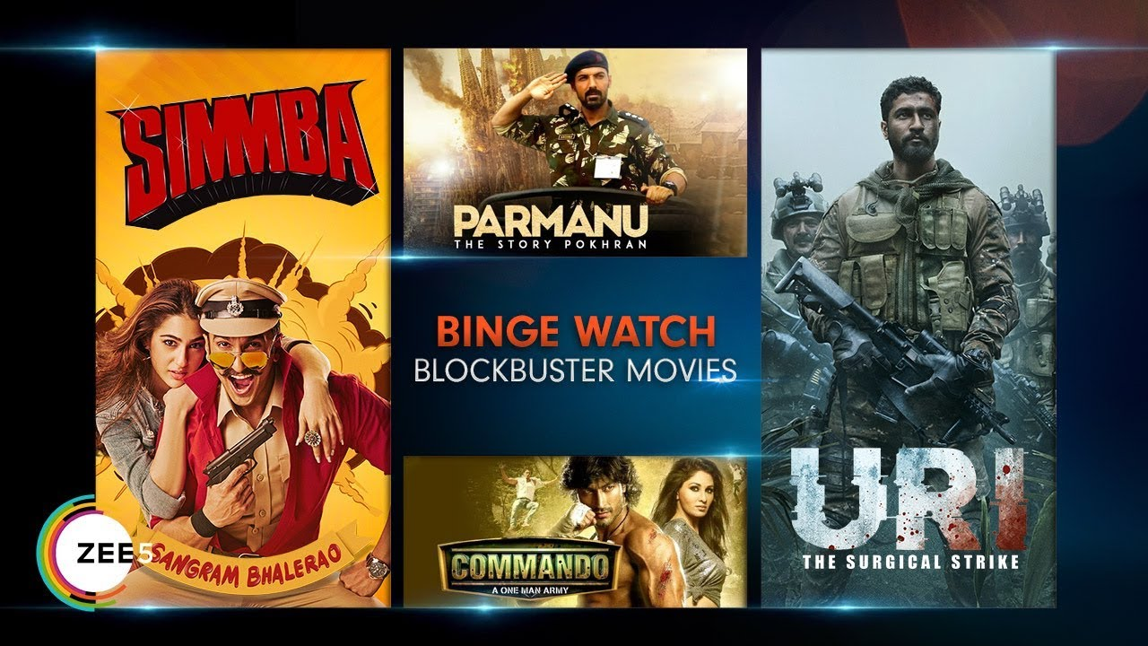 Blockbuster Movies On ZEE5 | 30th - 31st March 2019 | Binge Watch Popular  Movies This Weekend