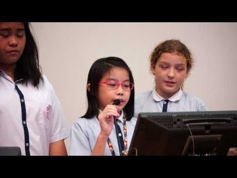 The 1st Hong Kong International Youth Forum Presentation (Catholic Mission School)