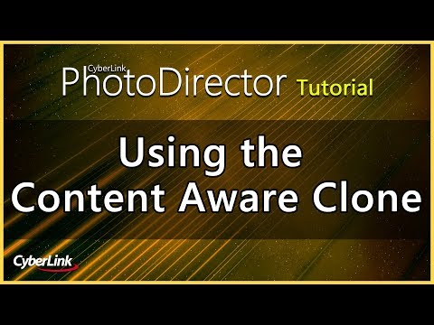 PhotoDirector - Using The Content Aware Clone | CyberLink