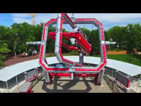 CYBORG Cyber Spin at Six Flags Great Adventure