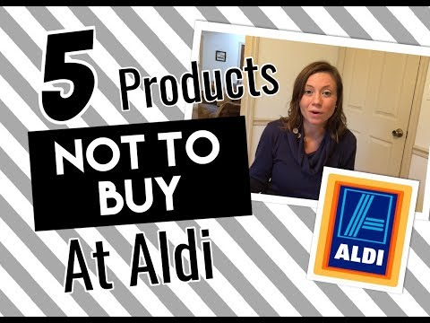 What Not To Buy At Aldi| Top 5 Don't Buys Aldi| Collab SimpleLifeSimpleWife