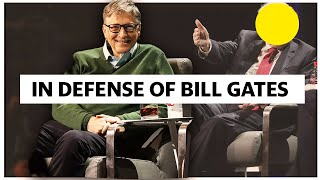 Why Bill Gates Is Right. Where Journalists Are Wrong.