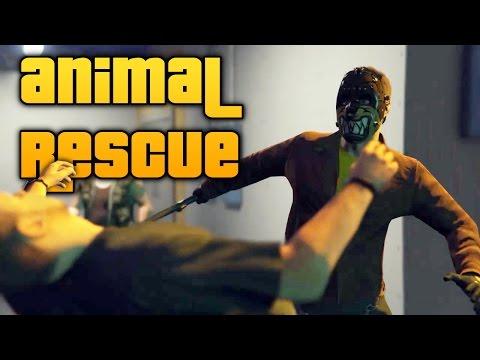 GTA V | INHUMANE LABS ANIMAL RESCUE [Rockstar Editor Movie]
