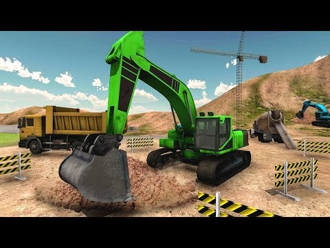 Heavy Sand Excavator City Construction Simulator (by Gamers Scapes Inc) Android Gameplay [HD]