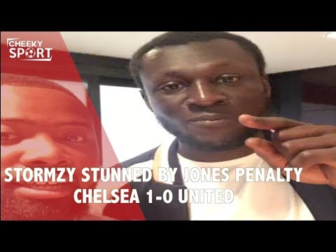 STORMZY STUNNED BY JONES PENALTY | Chelsea 1-0 Man Utd