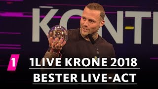 "Kontra K ist ""Bester Live-Act"" 