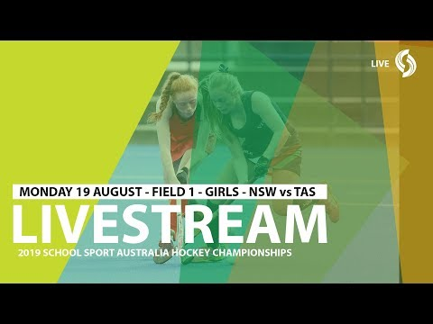 🔴 2019 SSA 12 Years And Under Hockey - Girls - NSW Vs TAS - Field 1 - Game 5