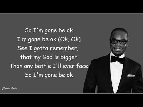 Kirk Franklin -  Ok | Lyric Video |