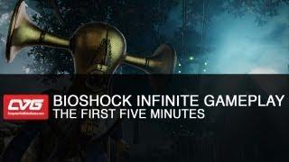 BioShock Infinite Gameplay - First 5 minutes