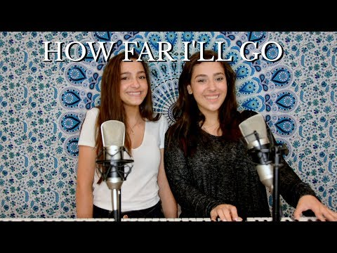 Carly And Martina ACOUSTIC COVER Of How Far I'll Go (Auli'i Cravalho)