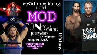 Wr3d 2k19 Mod by kingreal ultra hd mod   New models