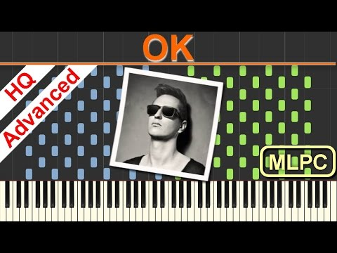 Robin Schulz feat. James Blunt - OK I Piano Tutorial & Sheets by MLPC
