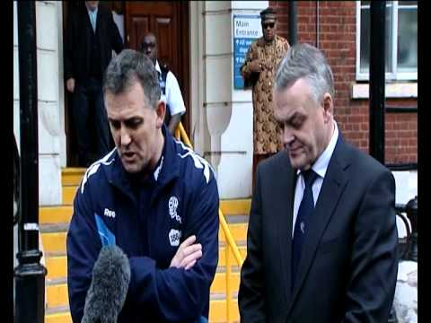 Fabrice Muamba Heart Attack - Owen Coyle's statement