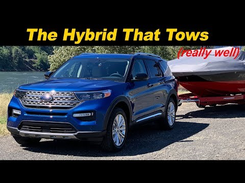 2020 Ford Explorer Hybrid Review | Fuel Sipping Toy Hauler