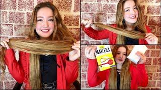 كيراتين طبيعي للشعر ،وصفة طبيعية خطيييرة في فرد الشعر 😱