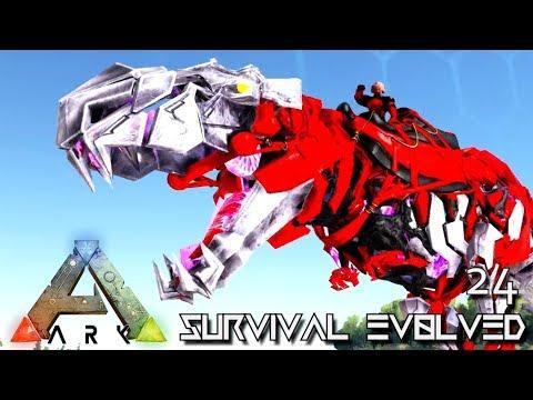 ARK: SURVIVAL EVOLVED - CORRUPTED TEK ZOMBIE REX !!! | PUGNACIA DINOS EBENUS ASTRUM E24