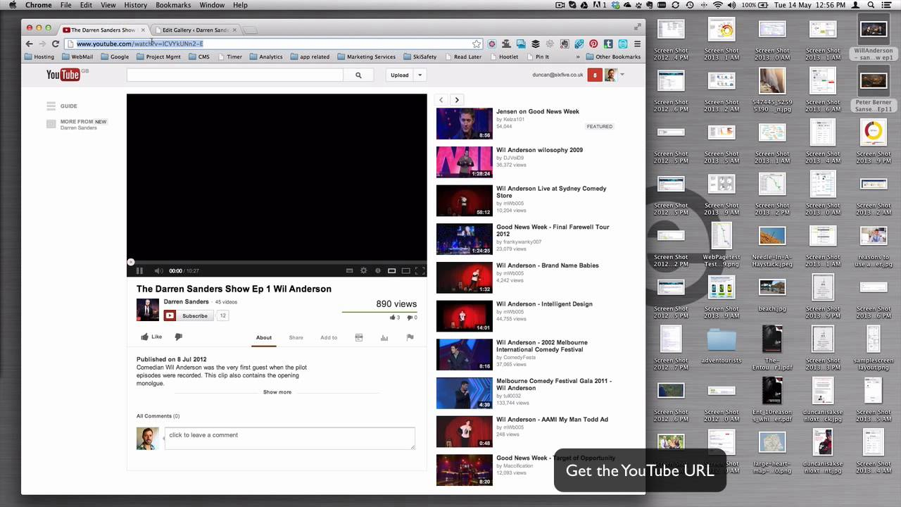 Creating a video gallery on rock it theme for Wordpress - YouTube