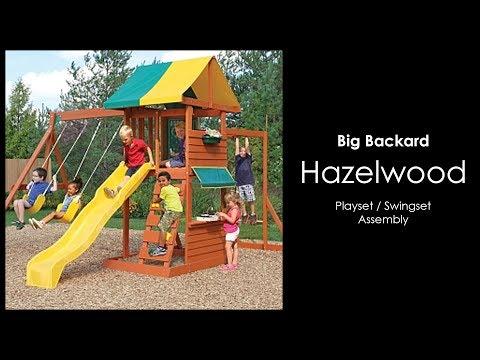 Assembly of the Hazelwood Play Set by Big Backyard - Installation walkthrough
