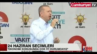 Erdoğan;Her Eve Buzdolabı giriyorsa refah seviyesi yüksek demektir.YORUM SİZİN