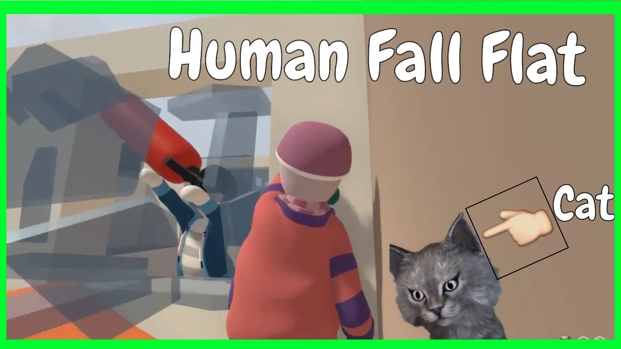 how to play splitscreen on human fall flat