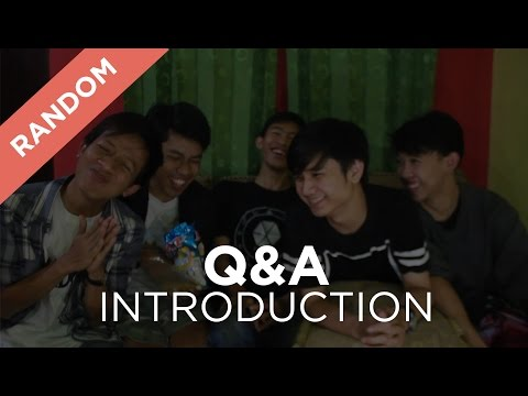 [RANDOM] Q&A | Introduction