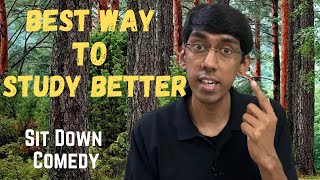 Best Way to Study Better | fActually Funny | Sit Down Comedy by Saikiran