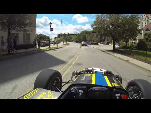 Driving a FSAE on Pitt's campus