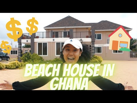 BEAUTIFUL BEACH HOUSE IN GHANA!!! (HOUSE TOUR)