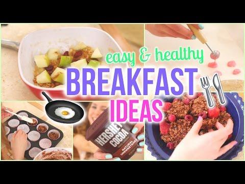 No-Bake Quick, Easy, & Delicious Breakfast Ideas!
