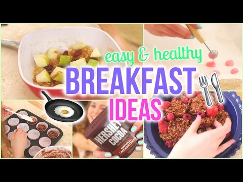No-Bake Quick, Easy, & Delicious Breakfast Ideas!