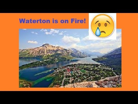 Waterton  fire 2017