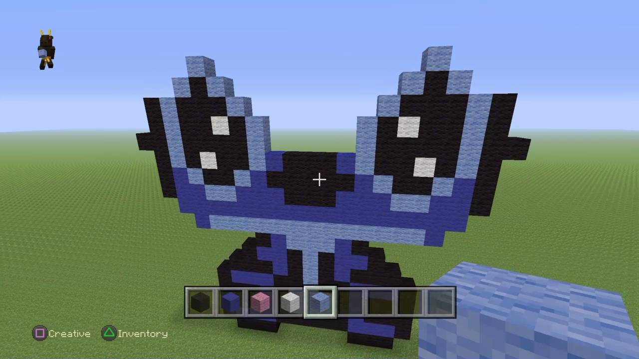 Stitch from Lilo Stitch Minecraft Tutorial YouTube