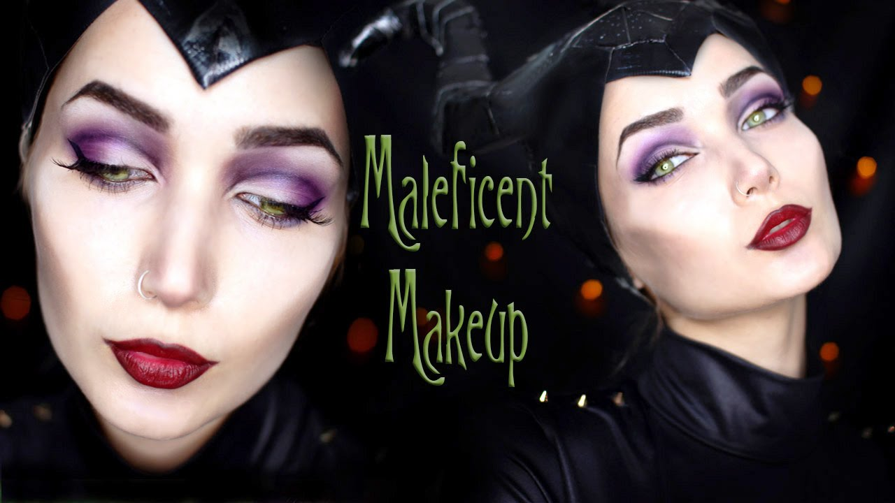 Maleficent halloween makeup tutorial youtube maleficent halloween makeup tutorial baditri Gallery