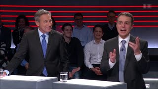 Arena 04.12.15: FDP Fraktionschef über seine Schwester (Humor)
