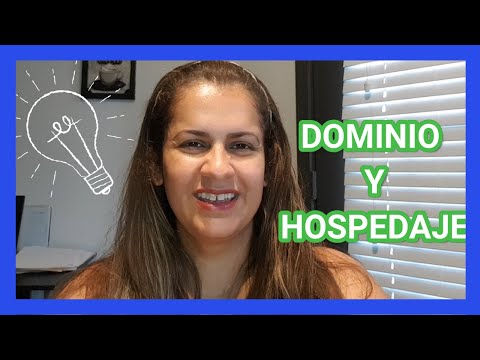 ¿Que es Dominio? ¿Que es Hospedaje? Curso Como Hacer una Paginas Web - Video Tutorial