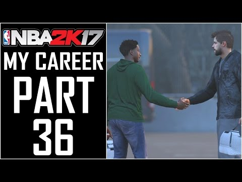 "NBA 2K17 - My Career - Let's Play - Part 36 - ""Bad News For Denver, Justice Getting Traded?"""