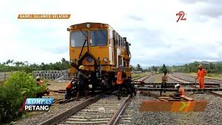 Pembangunan Rel Kereta Trans Sulawesi Rampung Tahun 2020