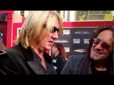 "Def Leppard at the ""Rock of Ages"" premiere"