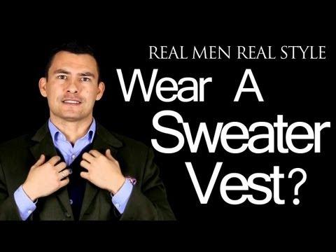 Why Wear Mens Sweater Vest