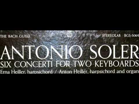 Download Soler / Anton Heiller / Erna Heiller, 1964: Concert No. 1 for Harpsichord and Organ