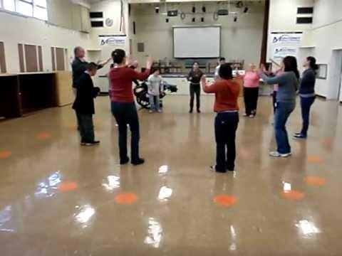 Little Liza Jane Dance -- Adapted PE