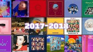 2017 - 2018 여자 아이돌 랜덤 플레이 댄스 Girl Idol Random Play Dance